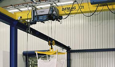 Demag Cranes Mccallum Engineering Christchurch Cranes